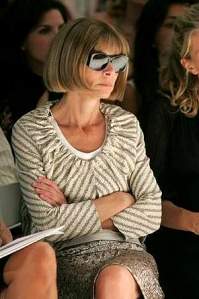 Anna Wintour in armour