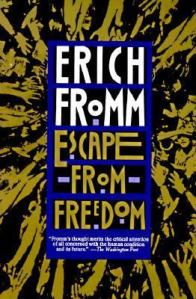 Cover picture of Erich Fromm's Escape from Freedom