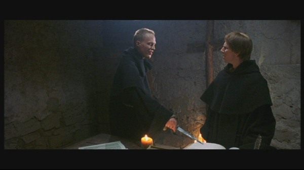 Nicholas Interrogates a Monk
