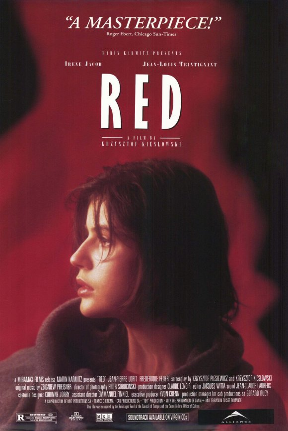 トリコロール/赤の愛というフランス映画