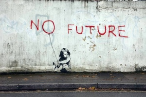banksy_no_future